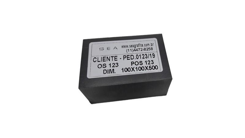 Eletrodo de grafite para eletroerosão